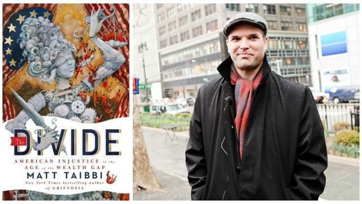 First Look: Matt Taibbi's New Book, <em>The Divide</em>
